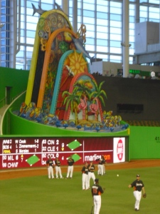 Marlins home run feature