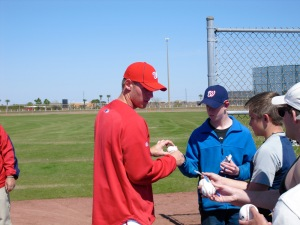 Strasburg at Spring Training 2010