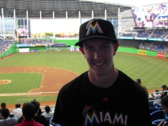 Me at Marlins Park
