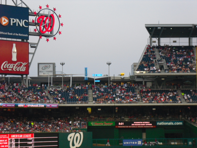 The Capital Conjecture: Breaking Down Nationals Park Seating