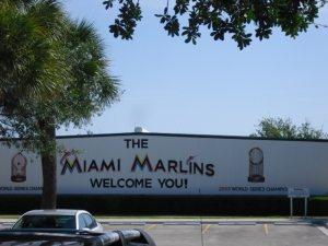 Marlins Spring Training at Roger Dean Stadium