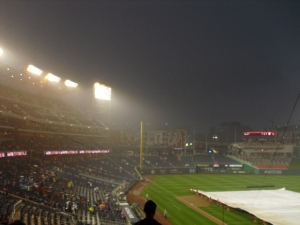Nationals Park rain delay