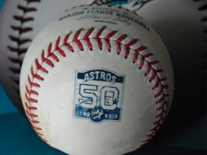 Astros 2012 commemorative ball