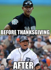 Cabrera thanksgiving meme