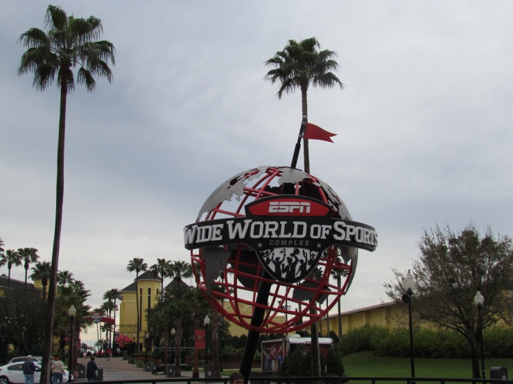 Disney Wide World of Sports Sign