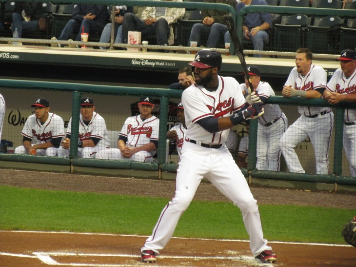 Jason Heyward batting