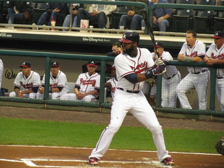 Jason Heyward batting