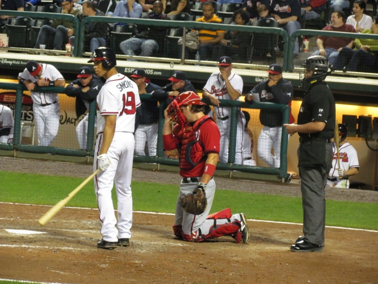 Andrelton Simmons and catcher