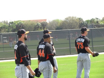 Marlins pitchers