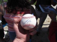 Jose Fernandez signature