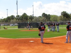 Marlins practice field