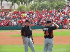Yelich and Baker