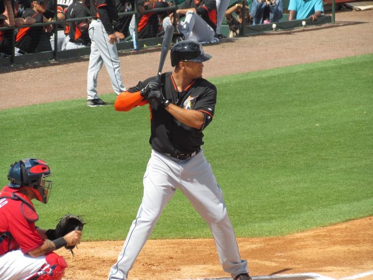 Giancarlo Stanton batting