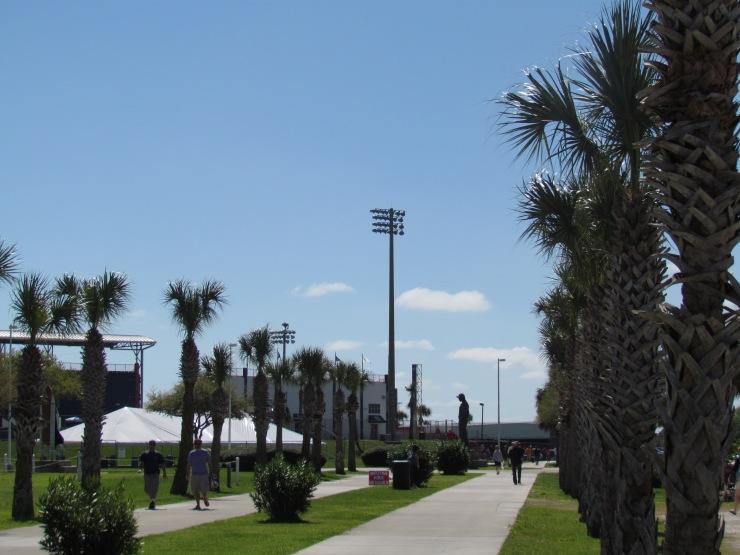 Outside Space Coast Stadium Viera, FL
