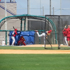 BP on Nats practice fields