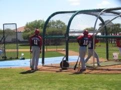 Nationals practice