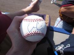 Evan Gattis' signature