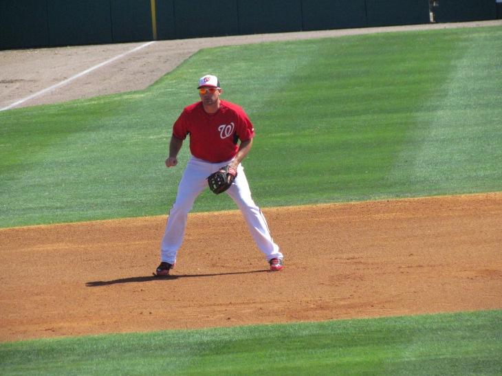 Ryan Zimmerman at third base