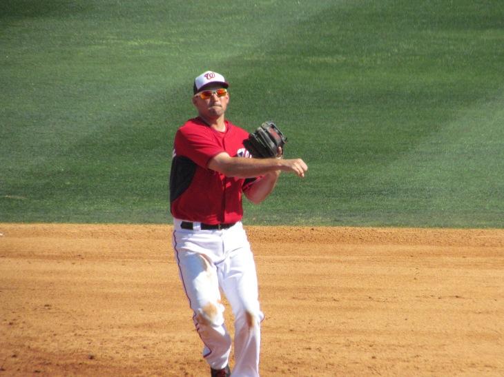 Ryan Zimmerman throwing