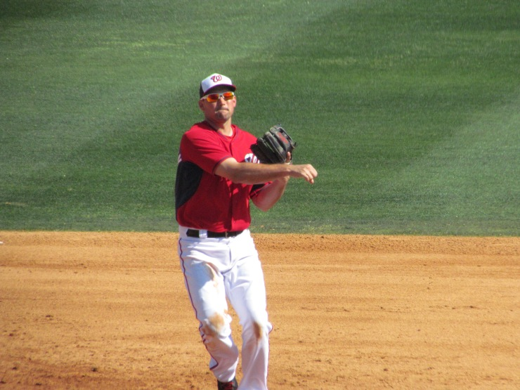 Ryan Zimmerman throwing