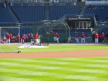 Nationals BP