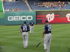 Yonder Alonso and Will Venable