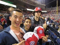 Ben, Jack, and Andre with free hats