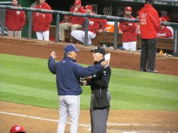 Bud Black and HP Umpire
