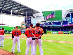 Marlins Park Easter Sunday