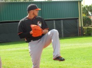 Jose Fernandez at spring training 2014