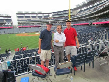 Me and Paul with Rich Waltz