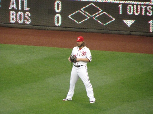 Werth in right field