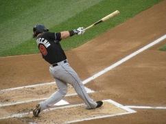 Saltalamacchia batting