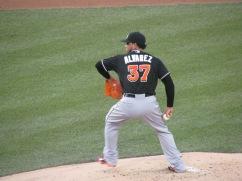 Henderson Alvarez pitching