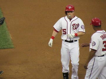 Nate McLouth on first