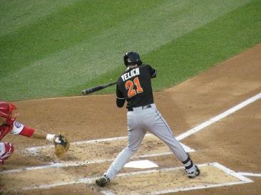 Christian Yelich batting