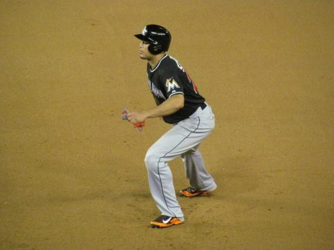 Stanton leading off first