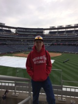 Paul at Nationals Park
