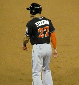 Giancarlo Stanton at Nationals Park