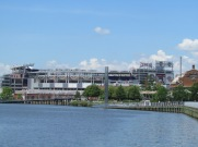 Nationals Park over the water