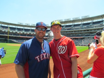 Me and Colby Lewis