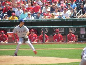 Yu Darvish at Nats Park