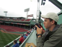 Andre on Green Monster