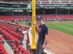Me at Pesky's Pole
