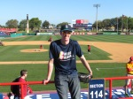 Me at Space Coast Stadium