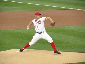 Jordan Zimmermann at Nationals Park