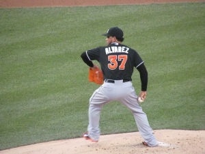 Henderson Alvarez at Nationals Park