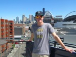 Me at top of Safeco Field/Lookout Landing