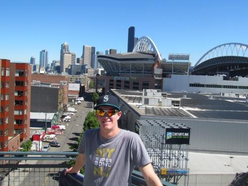 Seattle skyline from Lookout Landing