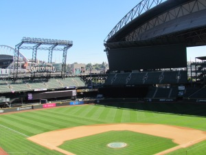 View from Mariners Suite